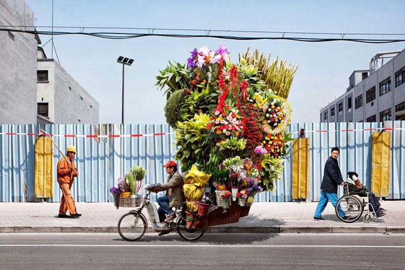 Перевозки цветов в городе