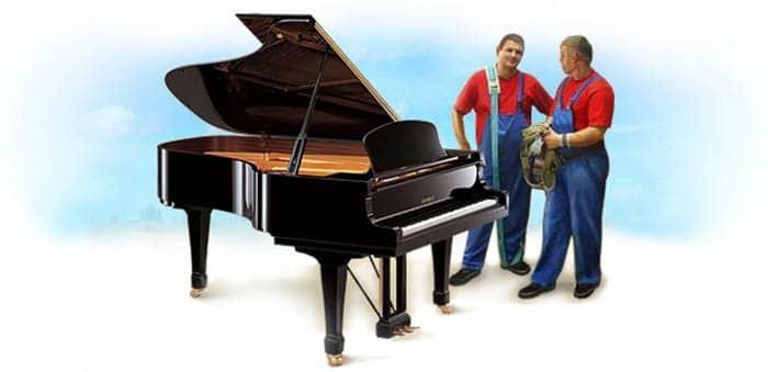 Грузчики и рояль